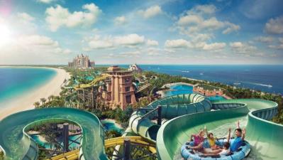 Отели ОАЭ с водными горками и аквапарками