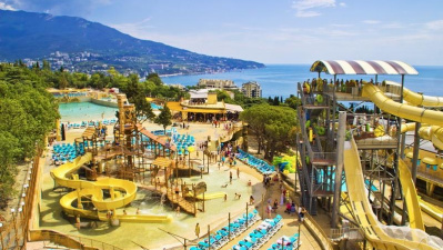 Приглашаю вас отдохнуть в Ялте в отеле  Атлантида с аквапарком!