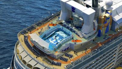 Quantum of the Seas 5* - самый высокотехнологичный лайнер в мире - идёт во Владивосток
